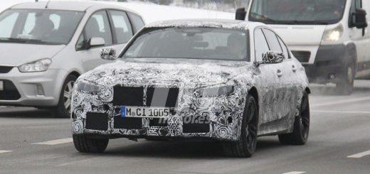 BMW M3 G80 Spy 2020 Nordschleife