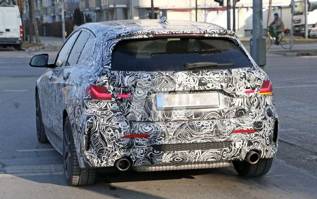 BMW Serie 1 F40 - BMW M140i xDrive Spy 2019 also Interiors (4)