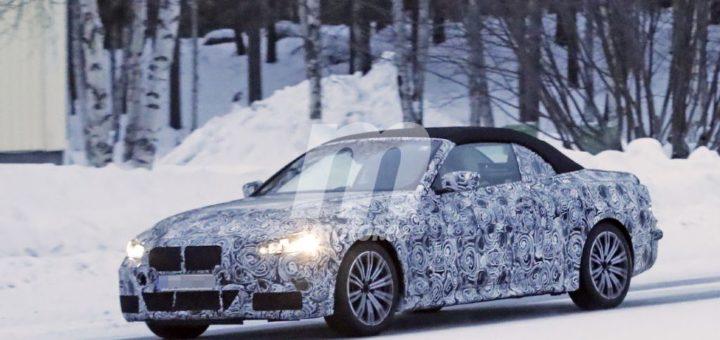 BMW Serie 4 Cabrio Spy 2020 G22 - BMW M440i xDrive Cabrio