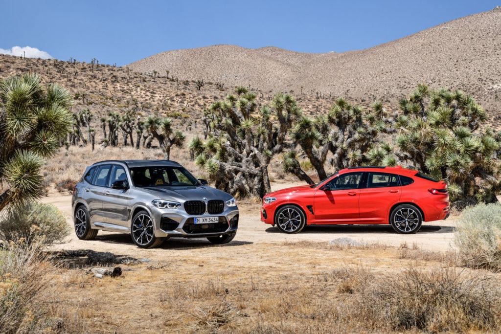 BMW X3 M F97 - BMW X4 M F98 2020