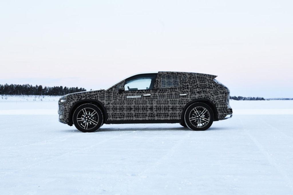 BMW iNEXT 2021 Spy