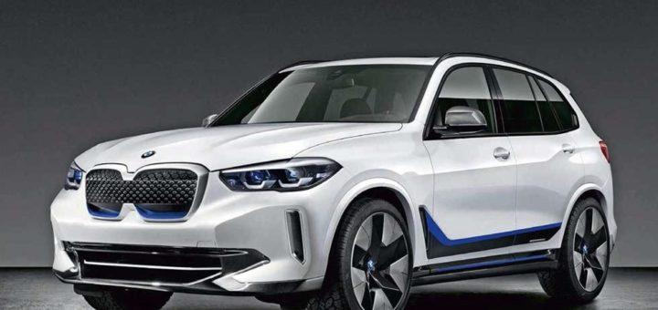 BMW iX5 photoshop 2020
