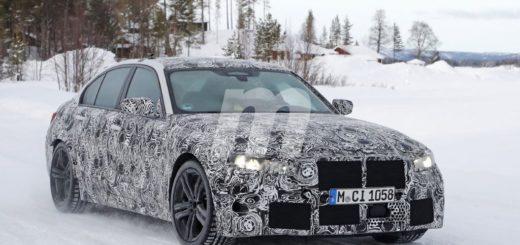 BMW M3 2020 Spy G80 2020 Circolo Polare Artico (1)
