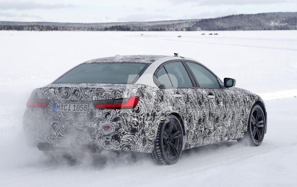 BMW M3 2020 Spy G80 2020 Circolo Polare Artico (6)