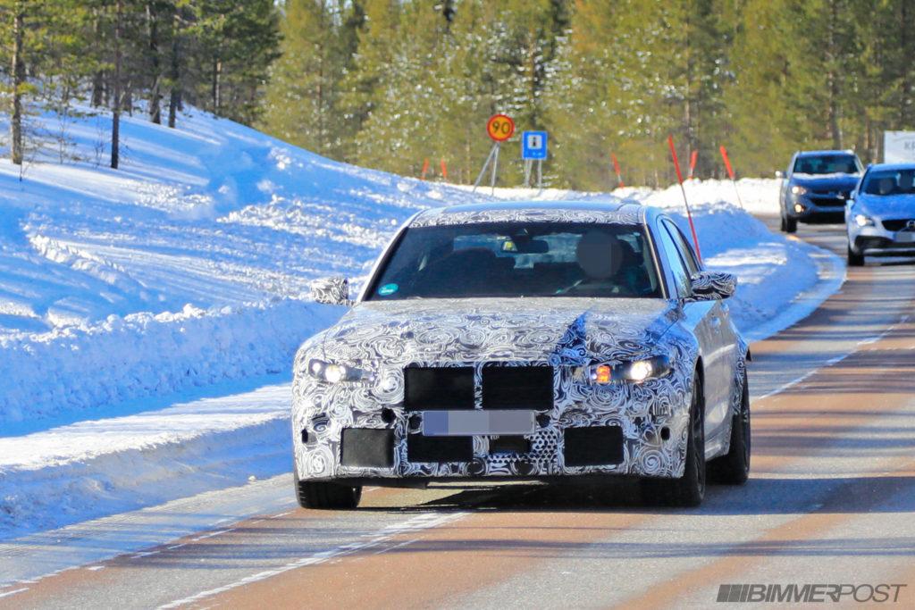 BMW M3 2020 Spy G80 (3)