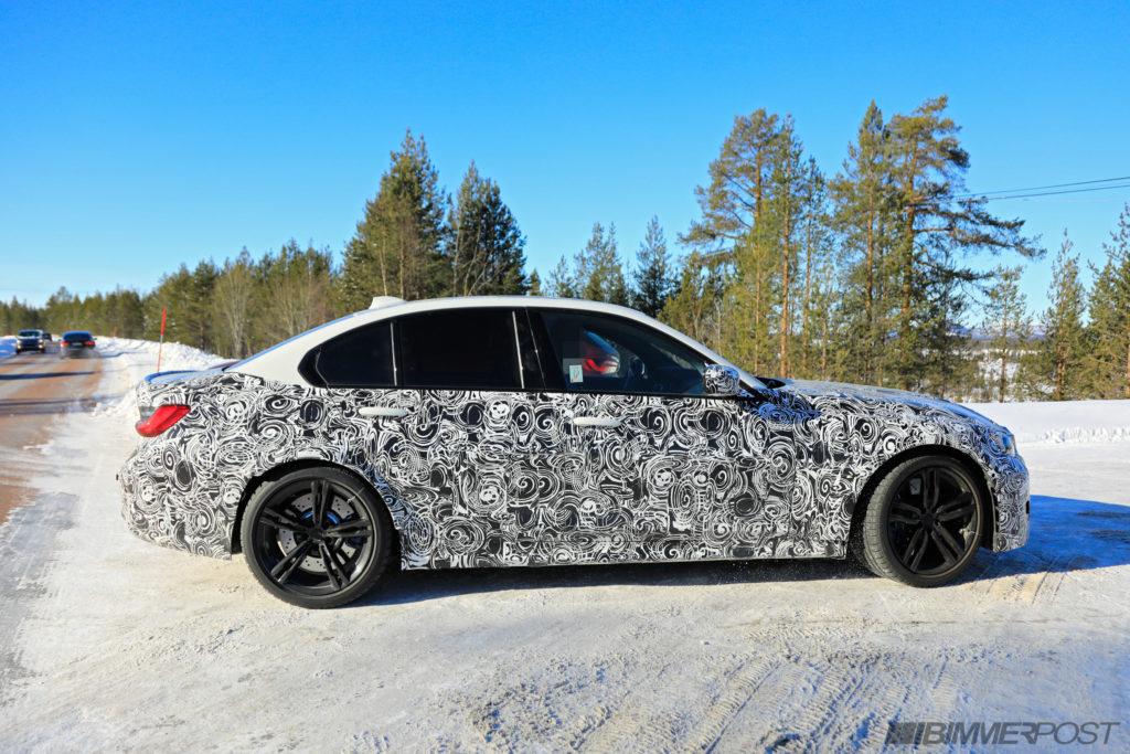 BMW M3 2020 Spy G80 (4)