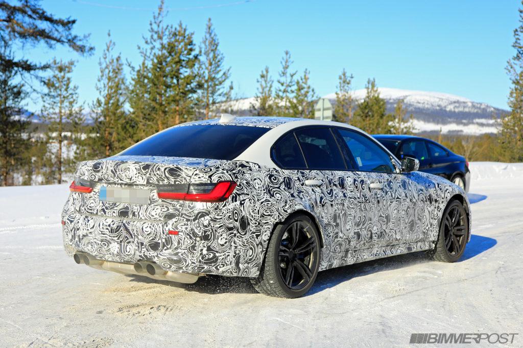 BMW M3 2020 Spy G80 (5)