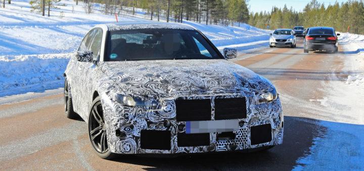 BMW M3 2020 Spy G80