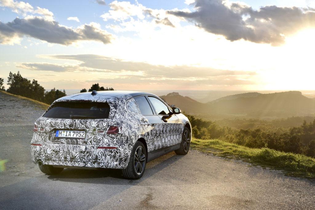 BMW Serie 1 2020 F40 Miramas Preview Spy (10)