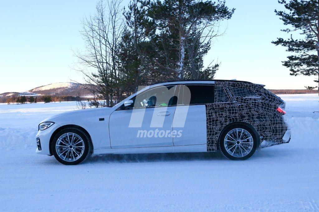 BMW Serie 3 Touring G21 Spy 2019 Circolo Polare Artico (2)
