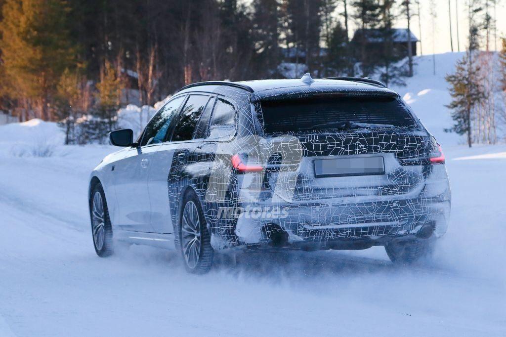 BMW Serie 3 Touring G21 Spy 2019 Circolo Polare Artico (4)