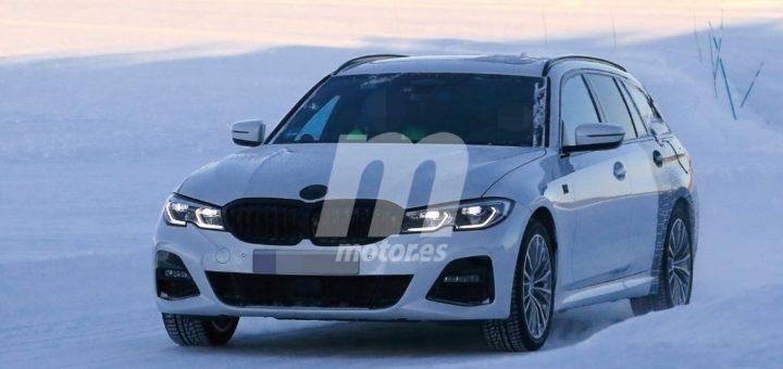 BMW Serie 3 Touring G21 Spy 2019 Circolo Polare Artico