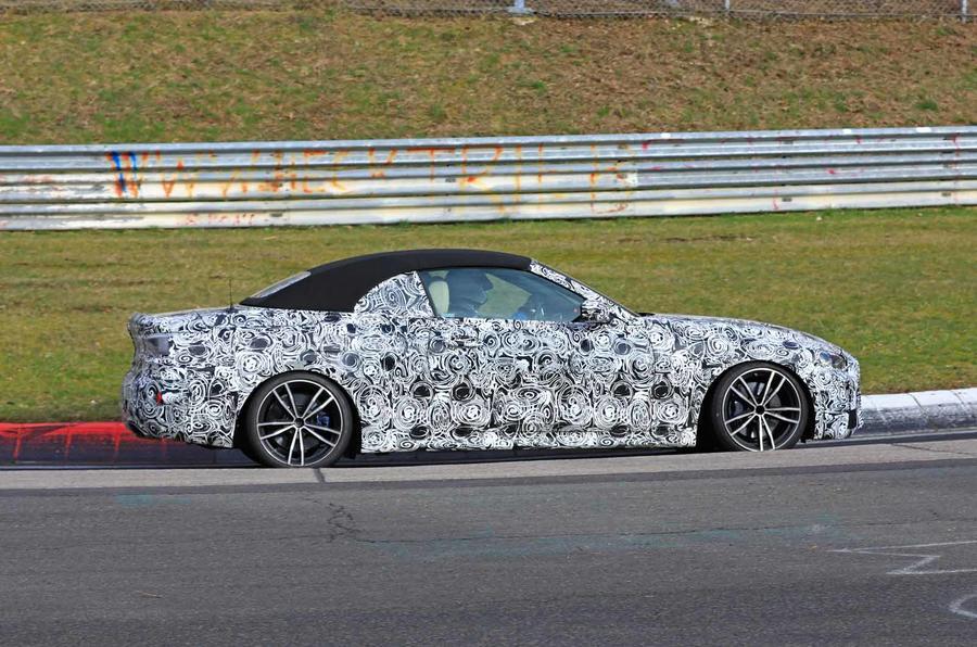 BMW Serie 4 Cabrio 2020 G22 Spy Nurburgring (5)
