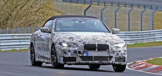 BMW Serie 4 Cabrio 2020 G22 Spy Nurburgring