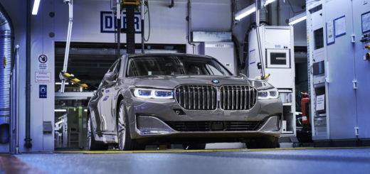 BMW Serie 7 LCI facelift G11 G12 2019 Dingolfing Plan (8)