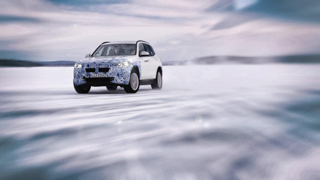 BMW iX3 G08 North Pole Testing 2019