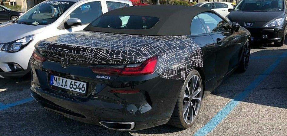 BMW 840i Cabrio Spy (2)