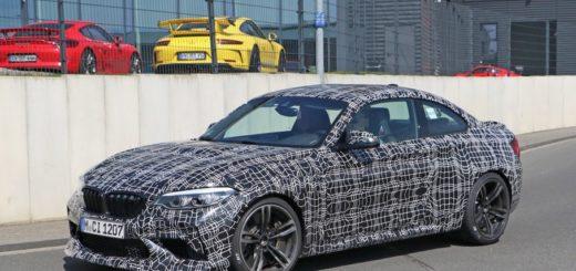 BMW M2 Competition Sport F87M Spy 2019 (3)