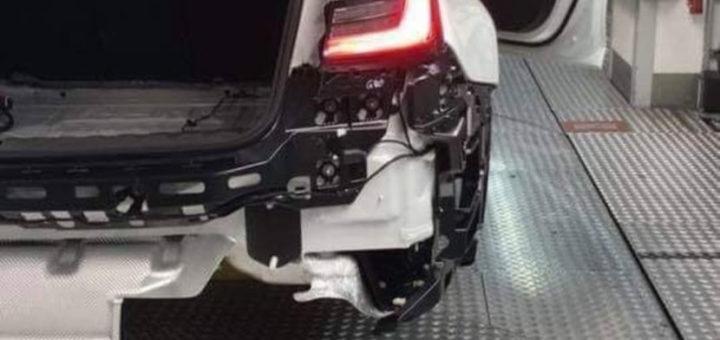 BMW M3 G80 2020 Spy Leaked (1)