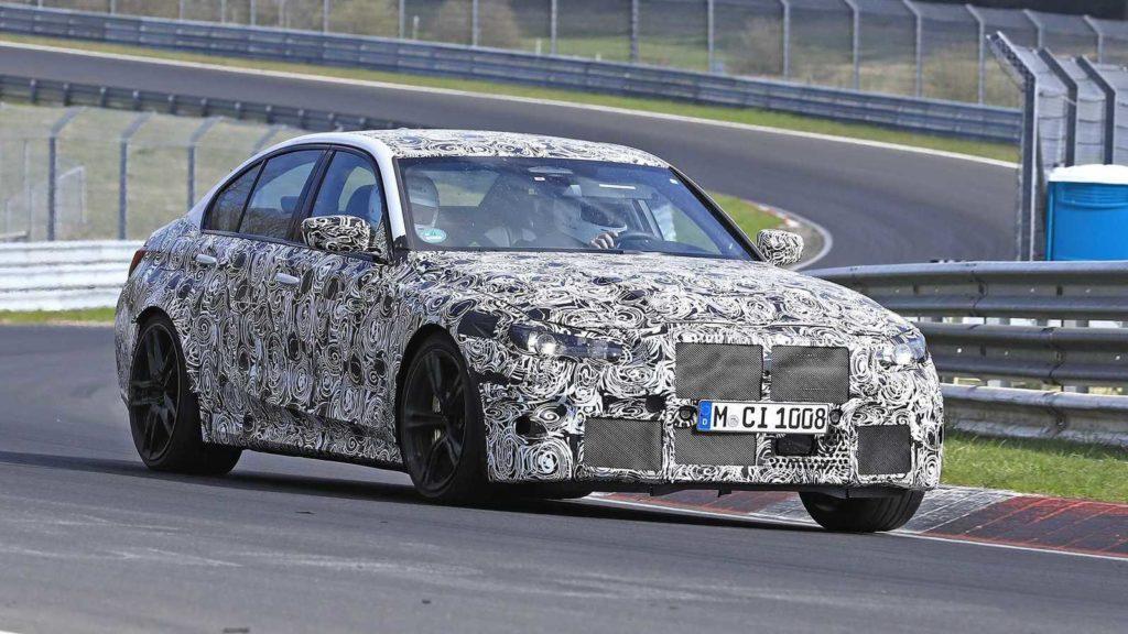 BMW M3 G80 2020 Spy Nurburgring (4)