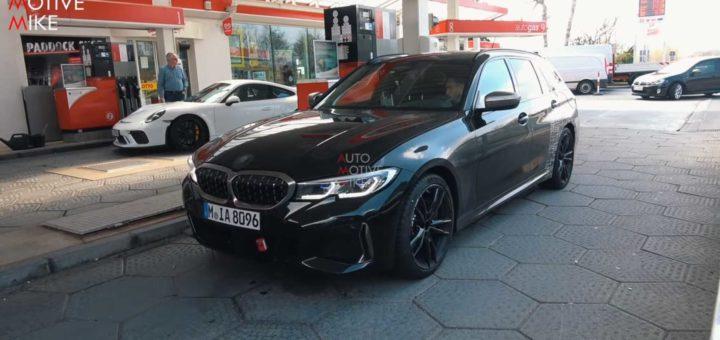 BMW M340i Touring 2019 Spy Nurburgring G21 (8)