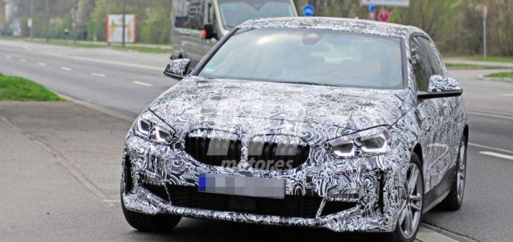 BMW Serie 1 2020 Spy M Sport F40 (1)