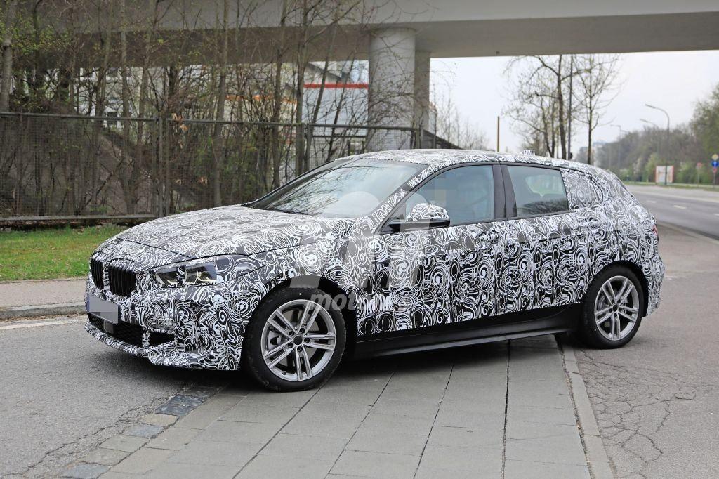 BMW Serie 1 2020 Spy M Sport F40 (3)