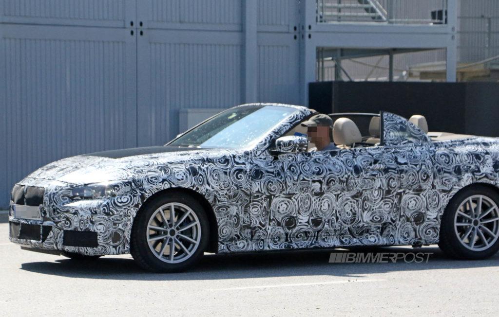 BMW Serie 4 Cabrio G22 2020 Spy
