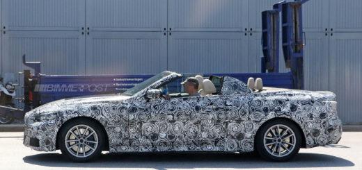 BMW Serie 4 Cabrio G22 2020 Spy (2)