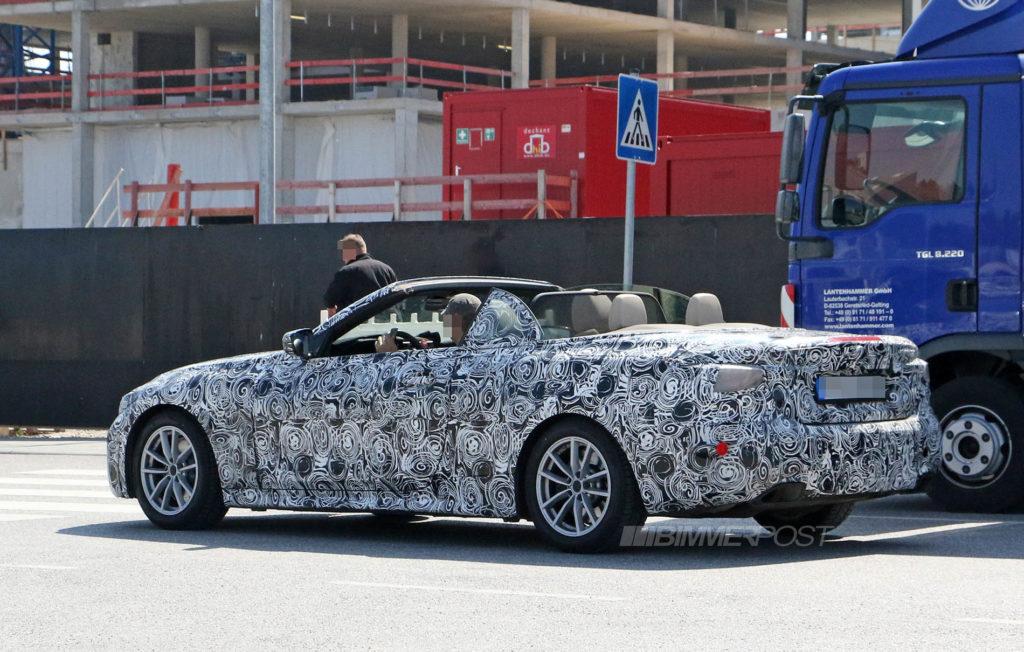 BMW Serie 4 Cabrio G22 2020 Spy (6)