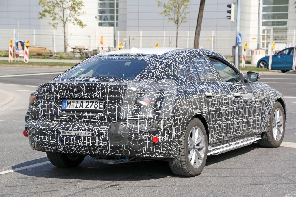 BMW i4 2021 Spy - G26