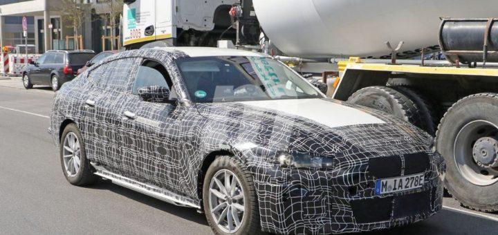 BMW i4 G26 2021 Spy