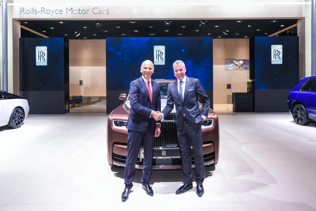 Rolls-Royce Phantom EWB Privacy Suite Shanghai 2019 Rolls Royce (10)