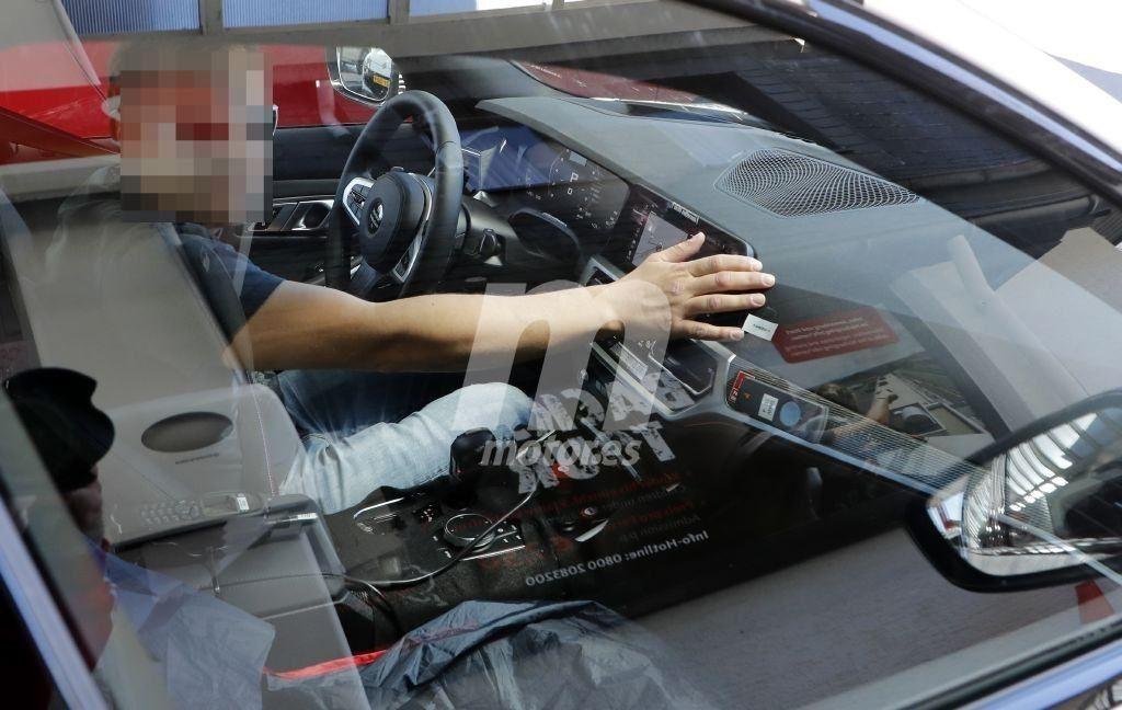 BMW M3 2020 G80 -Spy Interior - Nurburgring