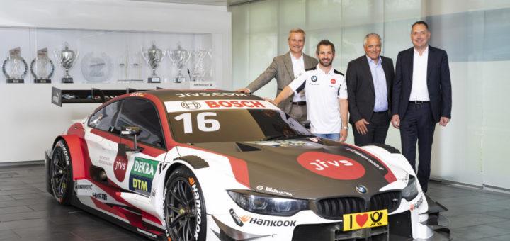 BMW M4 DTM 2019 JiVs Timo Glock