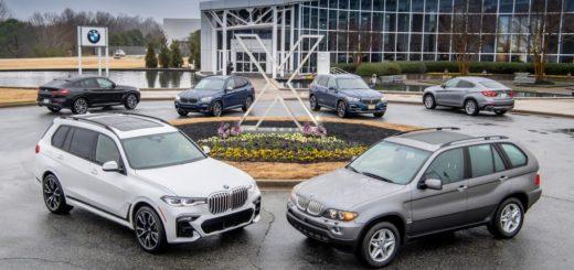 BMW X Spartanburg Plant. Family BMW X