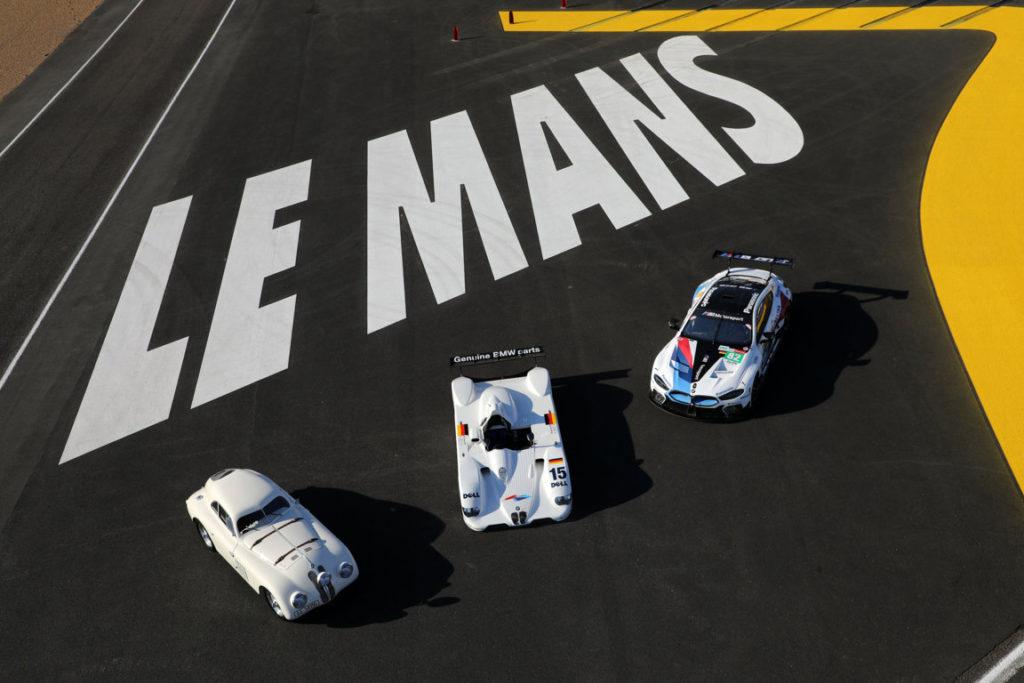 Le-Mans-FRA-15th-June-2019-BMW-M-Motorsport-FIA-World-Endurance-Championship-WEC-24-Hours-of-Le-Mans-BMW-328-touring-coupe-and-BMW-V12-LMR