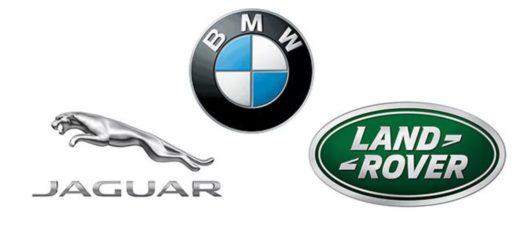 Jaguar, Land Rover, BMW