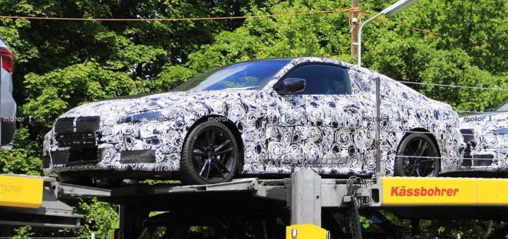 BMW Serie 4 Coupe' G22 Spy 2020 (3)