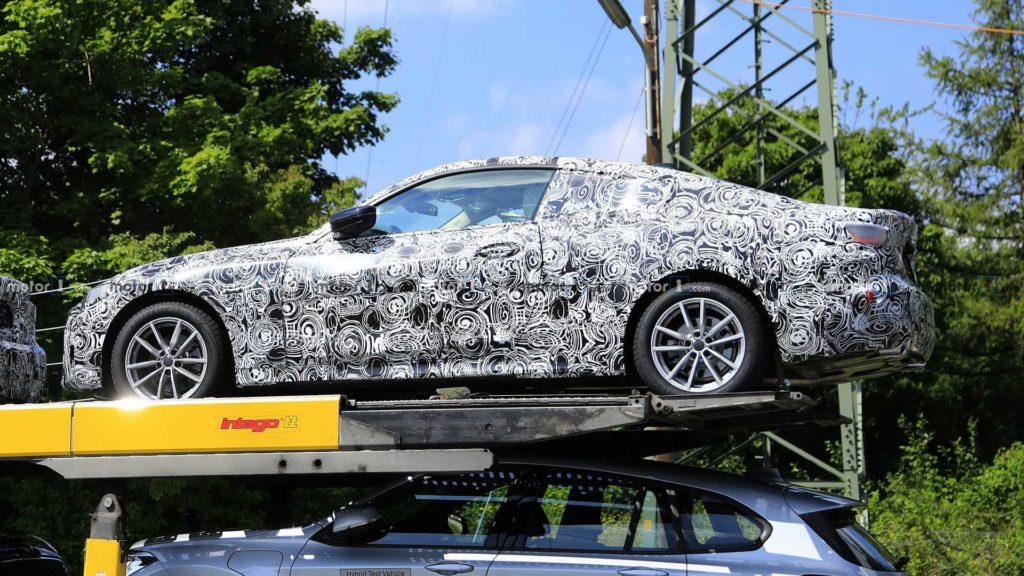 BMW Serie 4 Coupe' G22 Spy 2020 (5)