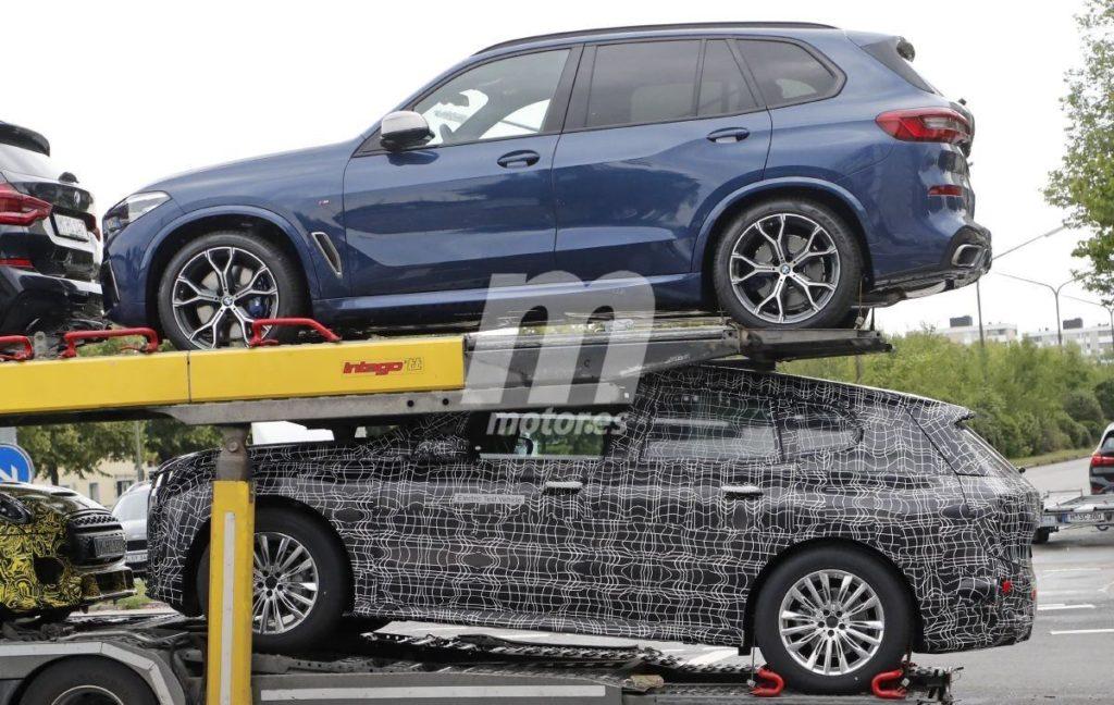 BMW iNEXT - Spy 2021