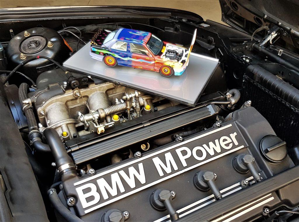BMW ArtCar by Jacopo Tagliavini