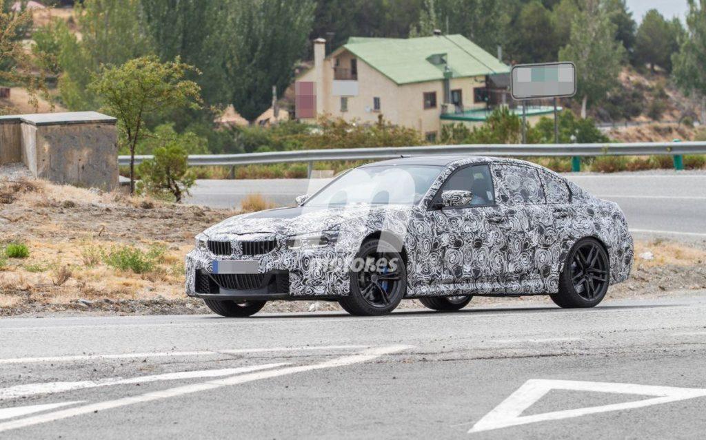 BMW M3 2020 G80 Spy Spain Test (2)