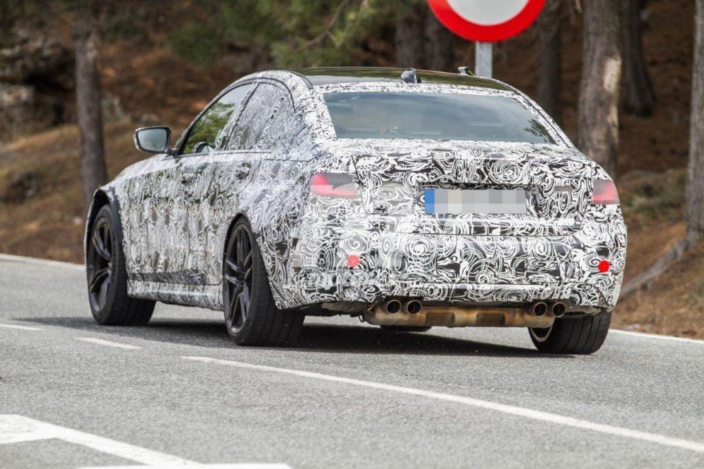 BMW M3 2020 G80 Spy Spain Test (6)