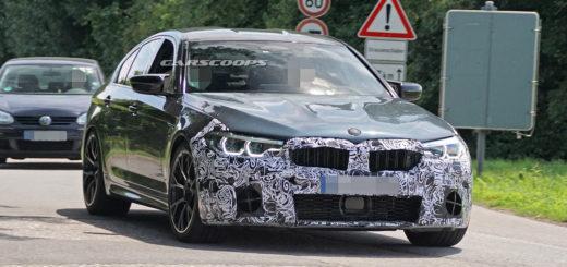 BMW M5 M xDrive F90 LCI 2021 Spy