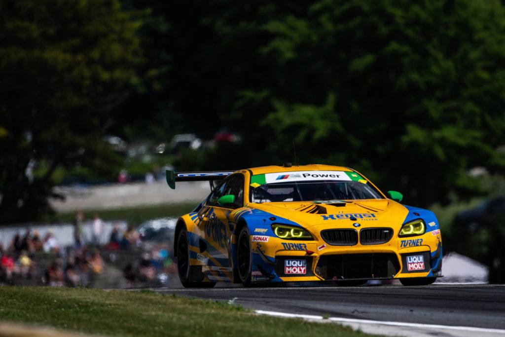 BMW Motorsport - BMW M6 GT3 IMSA Road Race Showcase Road America 2019 - Turner Motorsport
