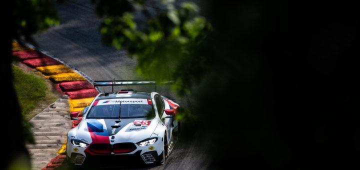BMW Motorsport - BMW M8 GTE IMSA Road Race Showcase Road America 2019 - BMW Team RLL