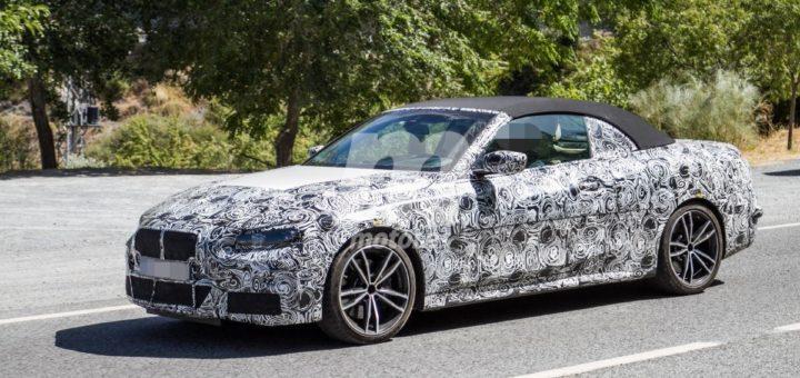 BMW Serie 4 Cabrio Spy 2020 - BMW M440i Cabrio - G23