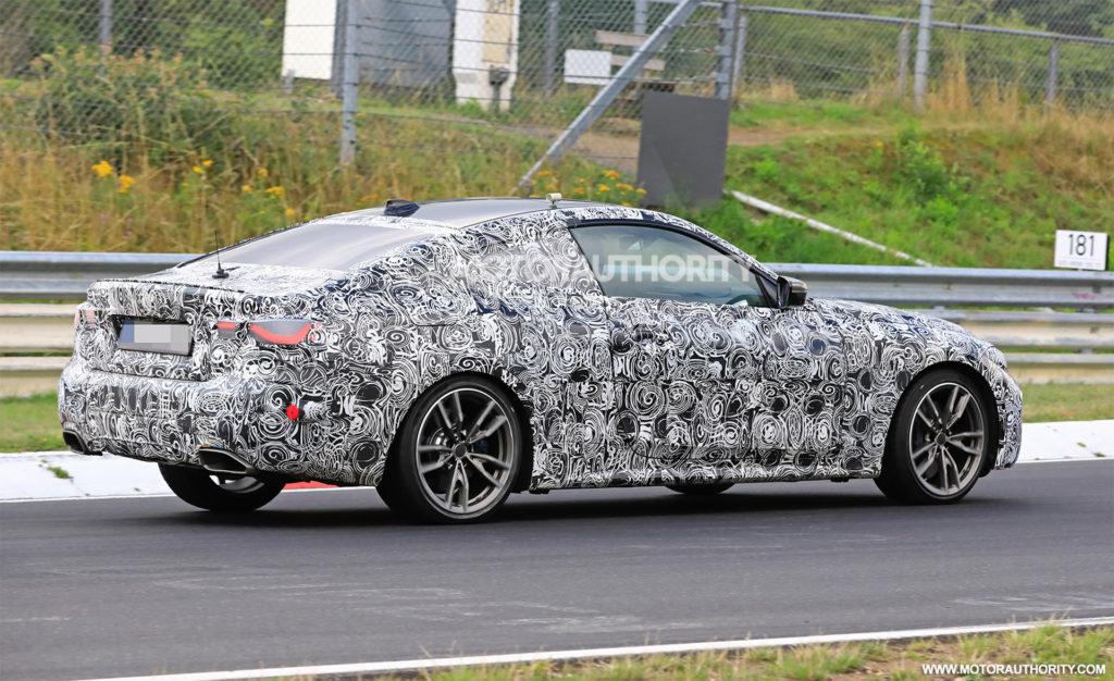 BMW Serie 4 Coupe' 2020 G22 - BMW M440i xDrive Spy