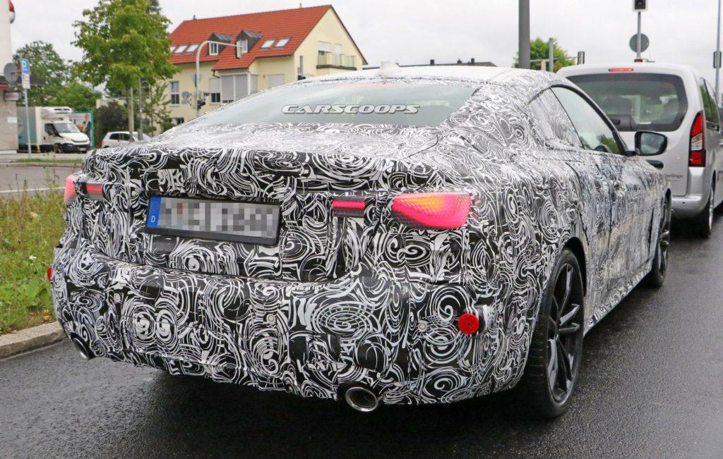 BMW Serie 4 Coupe' 2020 G22 Spy